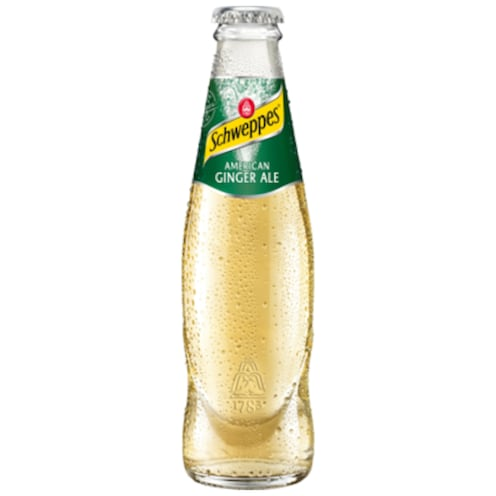 Schweppes American Ginger Ale 0,2 l