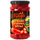 Fuego Jalapeño Peppers Sliced Rot 125 g