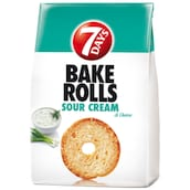7 Days Bake Rolls Sour Cream- & Onion 250 g