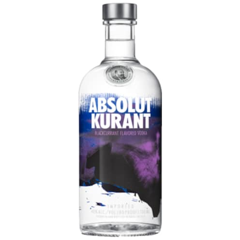 ABSOLUT Vodka Kurant 40 % vol. 0,7 l