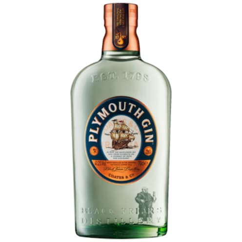 PLYMOUTH GIN Plymouth Gin 41,2 % vol. 0,7 l