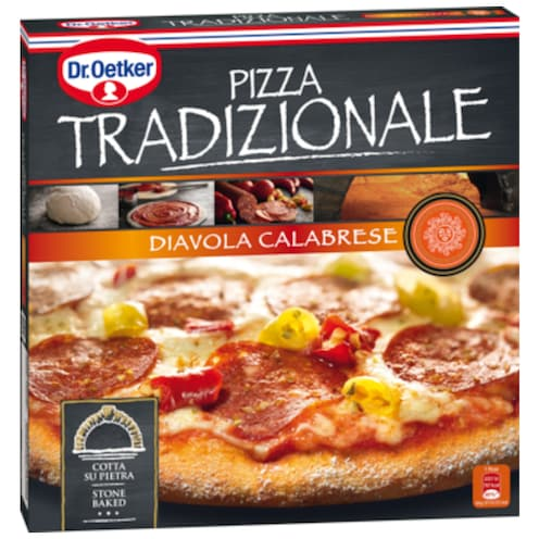 Dr.Oetker Pizza Tradizionale Diavola Calabrese 345 g