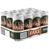 Faxe Premium Quality Lager Beer - Tray 12 x 1 l