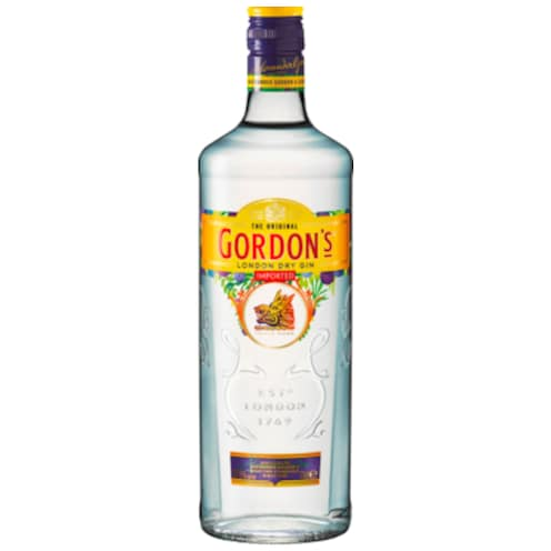 GORDON'S London Dry Gin 37,5 % vol. 0,7 l