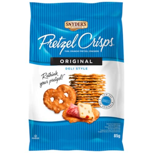 Snyders Original Pretzel Chips 85 g