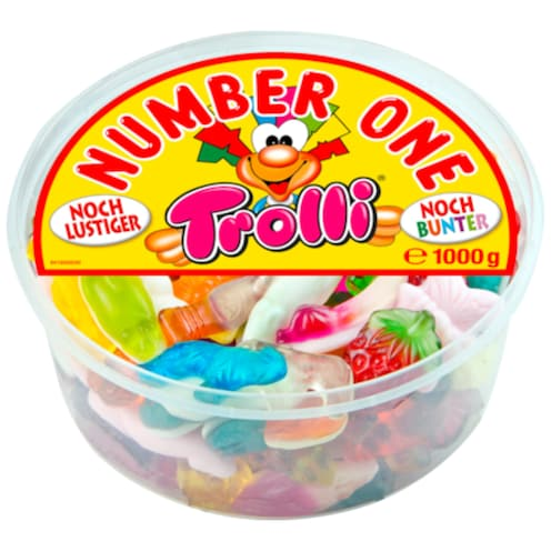 Trolli Number One 1 kg