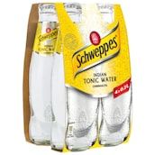 Schweppes Indian Tonic Water - 4er-Pack 4 x 0,2 l