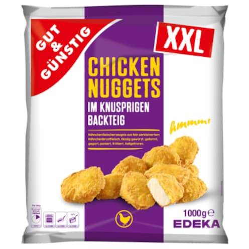 GUT&GÜNSTIG Chicken Nuggets 1000 g