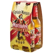 Captain Morgan Mutineer - 4er Pack 4 x 0,33 l