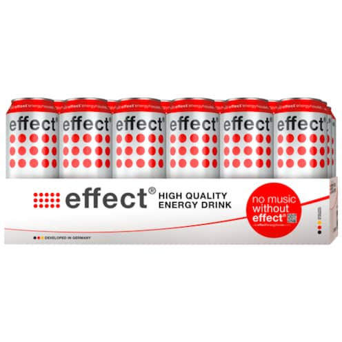 effect Energy Drink - Tray 24 x 0,5 l