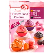 RUF Unsere Flashy Food Colours 4 x 20 g