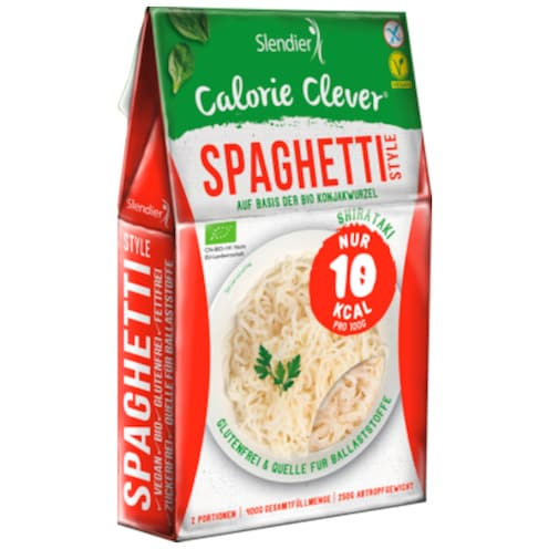 Slendier Calorie Clever Spaghetti Style 250 g