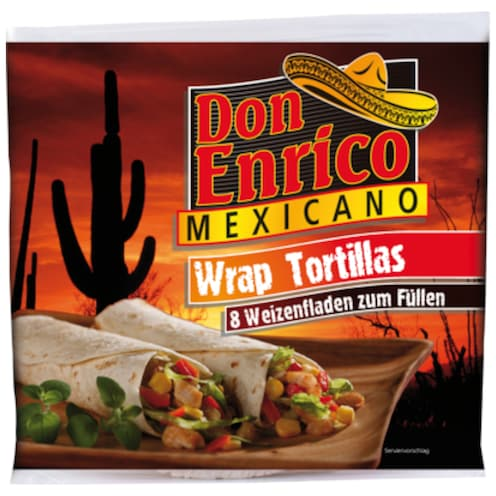 Don Enrico Wrap Tortillas 8 Stück