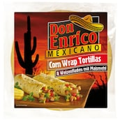 Don Enrico Corn Wrap Tortillas