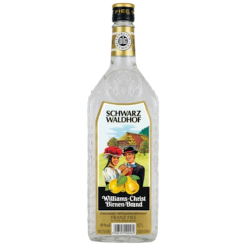 Franz Fies Schwarzwaldhof Williams Birnenbrand 40 % vol. 0,7 l