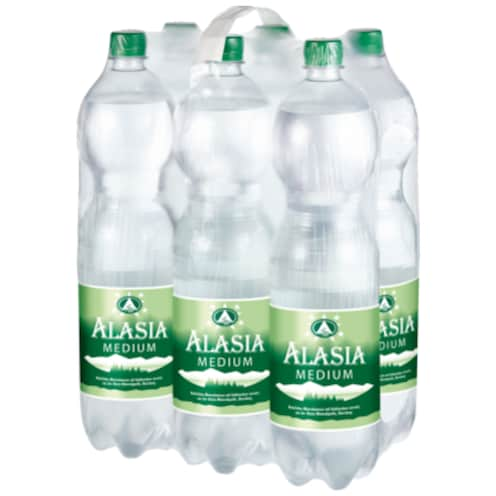 Alasia Medium Mineralwasser - 6-Pack 6 x 1,5 l