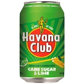 Havana Club Cane Sugar & Lime 10 % vol. 0,33 l