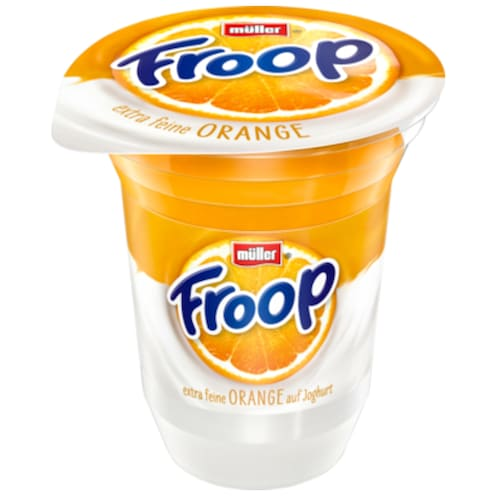 müller Froop extra feine Orange 3,5 % Fett 150 g