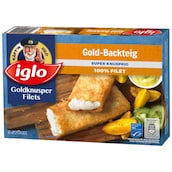 iglo Goldknusper-Filets Gold-Backteig 3 Stück300 g