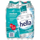 hella Medium - Sixpack 6 x 1,5 l