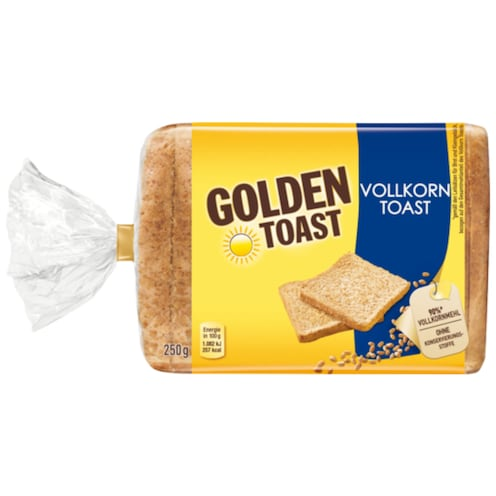 Golden Toast Vollkorn Toast 250 g