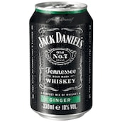 Jack Daniel's WHISKY & GINGER 10 % vol. 0,33 l