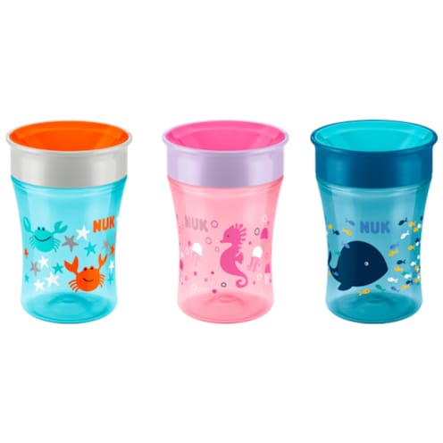 NUK Magic Cup Trinklernbecher 8+m 250ml