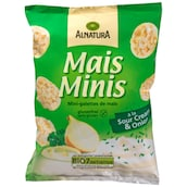 Alnatura Mais Minis á la Sour Cream & Onion 50 g