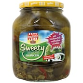 PAULSEN Sweety Gurken, 720 ml