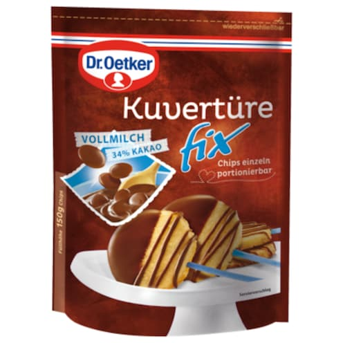 Dr.Oetker Kuvertüre Fix Vollmilch 150 g