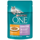 Purina ONE Sensitive Huhn und Karotte