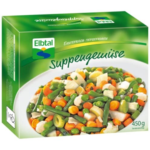 Elbtal Suppengemüse 450 g