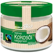 EDEKA Bio Fairtrade Kokosöl 220 ml