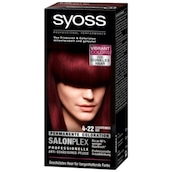 syoss Coloration 4-22 Leuchtendes Rot 115 ml
