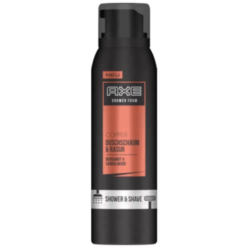 AXE Copper Duschschaum & Rasur Bergamot & Sandalwood 200 ml