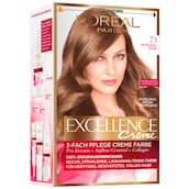 L'ORÉAL Excellence 3-fach Pflege Creme Farbe 7.1 Mittelasch-Blond