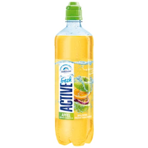 Adelholzener Active Fresh Apfel Orange Maracuja 0,75 l