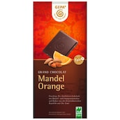 Gepa Grand Chocolat Mandel Orange 100 g