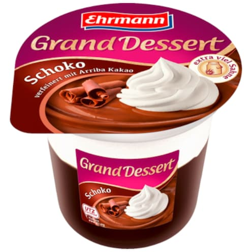 Ehrmann Grand Dessert Schoko 190 g