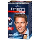 Schwarzkopf Men Perfect  Anti-Grau-Tönungs-Gel 40 Natur Dunkelblond 80 ml