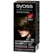 syoss Salonplex Permanente Coloration 4-1 Mittelbraun 115 ml