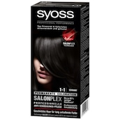 syoss Salonplex Permanente Coloration 1-1 Schwarz 115 ml
