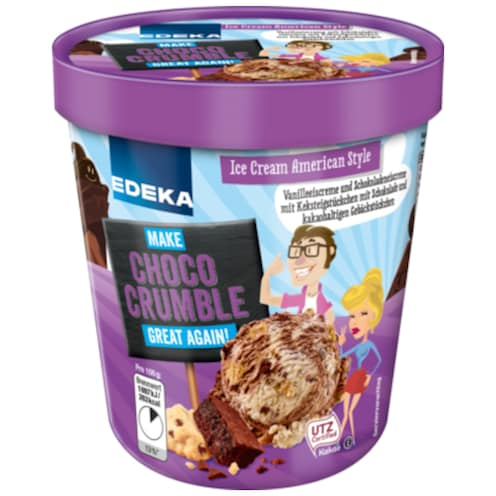 EDEKA American Icecream Choco Crumble 500 ml