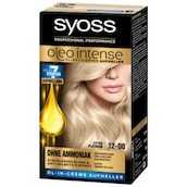 syoss Oleo Intense permanente Öl-Coloration Stufe 3 12-00 extra Platinum 133 ml