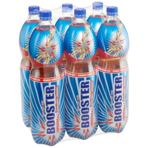 Booster Booster Original Energy Drink 6x1,5 l