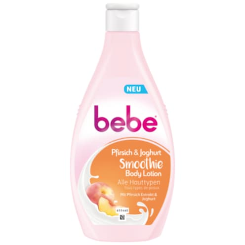 bebe Pfirsich & Joghurt Smoothie Body Lotion 400 ml
