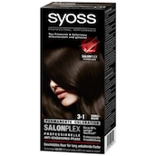 syoss Salonplex Permanente Coloration 3-1 Dunkelbraun 115 ml