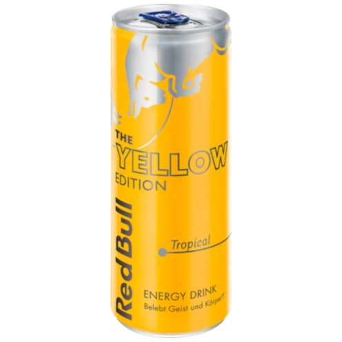 Red Bull Energy Drink Yellow Edition 0,25 l