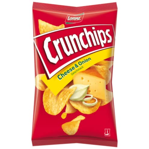 Lorenz Crunchips Cheese & Onion 175 g