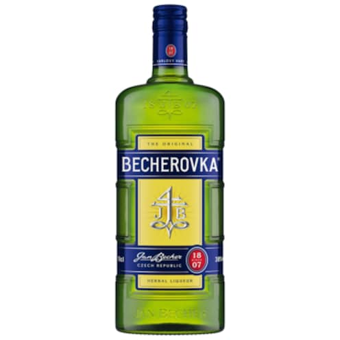 BECHEROVKA Original Kräuterlikör 38 % vol. 0,7 l